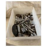 Bin Of Wrenches And Sockets