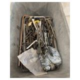 Bin Of Alan Keys And Miscellaneous Tools