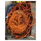 Bin Of Extension Cord
