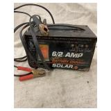 Solar Battery Charger 6/12 Amp