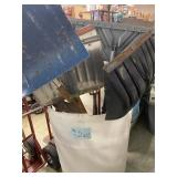 Bin Of Shovels And Miscellaneous Yard Tools
