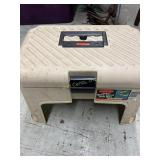 Rubbermaid Step Stool Tool Box