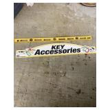 Key Accessory Sign And Level