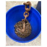 Bucket With Large Chain