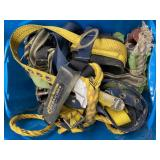 Bin Of Tree Climbing Equipment