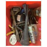 Large Bin Of Tools