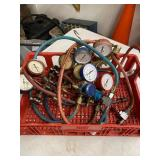Bin Of Torch Kit Parts
