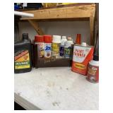 Paint, Oil, And Cleaning Supplies