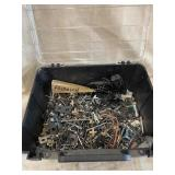 Bin Of Screws And Miscellaneous