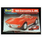 Vintage Revell 68 Corvette L-88 1:25 Model Kit