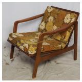 Mid Century Modern Teak Easy Chair Indoor Outdoor
