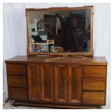 Martinsville Long Dresser Chest Mid Century Modern