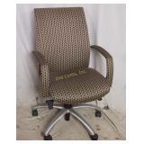 Modern Retro Mid Century Pattern Executive Chair