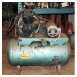 Speedaire Air Compressor 3 Phase Baldor 5hp Motor