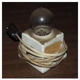 Very Rare Antique Early Incandescent Light Bulb &