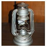 Vintage Silver Oil Lantern