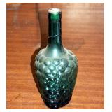 """Vintage Decorative Grape Wine Bottle 8"""""""