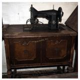 Vintage Sears Kenmore Electric Sewing Machine W Ca