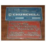 Vintage Hutch & Merryweather & Churchill Machine