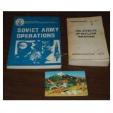 Vintage 1977-78 U S Army Nuclear Russian Books