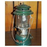 Vintage 1964 Green Coleman Double Propane Lantern