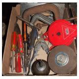 Vintage Craftsman 100 Ft & Shop Tools Lot