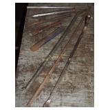 Vintage 5 Pcs Lot Of Cold Chisels & Punches