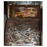 Vintage Small Thin & Regular Wrenches Assortment