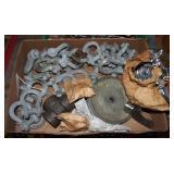 """Heavy Duty 7/16"""" Chain Links Swivels Lot"""