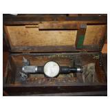 Vintage Standard Dial Bore Gage No 2 Tool