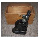 Atco 100 – 200 300 X Small Scientific Microscope