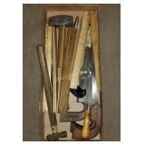 Vintage Specialty Wood Working Saws & Rulers Lot