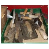 Approx 14 Assorted Masonry Hand Tools