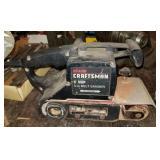 """Craftsman 1 H P 3"""" Belt Sander Unit"""