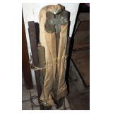 Vintage W W I I U S Army Field Cot