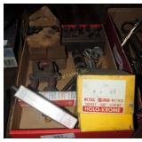 Steel Number Die Drill Bits & Misc Parts Box Lot