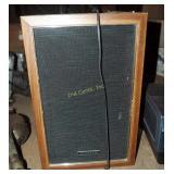 """2 Panasonic 10"""" Stereo Bookcase Shelf Speakers"""