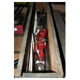 Wood Tool Box W Reed Mfg 2 A 1/2R Pipe Threader