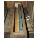 "Vintage Machine Tool 24"" Flatness Gauge Bar Steel"