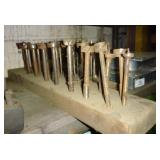 Approx 18 Heavy Duty Precision Wood Auger Bits