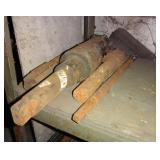 4 Heavy Duty Steel Rods & Bars Scrap Lot