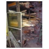 6 Five Foot Long Shelves Wood Lumber Pieces