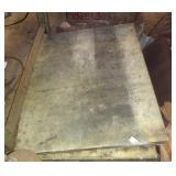 """Two Large 2"""" Approx 32"""" X 36"""" Marble Slabs Lot"""