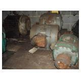 4 Massive Electric Induction Motors Lot