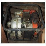 Vintage Portable Gas Engine W Marlow Pump Unit