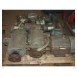 14 Heavy Used Electric Large Motors Lot