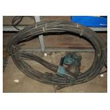 Hydraulic Power Punch Head With H P Hoses Lot