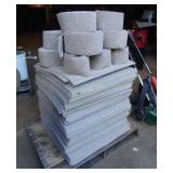 New Carpet Modular Squares & Edges Pallet Lot