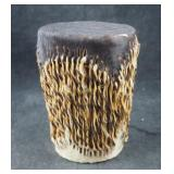 Rare African Hide Native Hand Shaker Drum