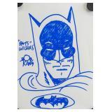 American Marker Batman Signed Bob Kane